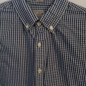 J. Crew plaid casual button down medium
